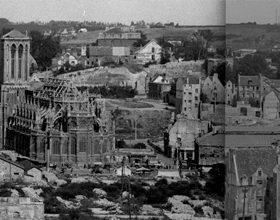 Caen après-guerre en 3D
